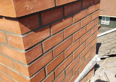 Rehabilitering av skorsteinspipe over tak
